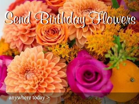Send Birthday Flowers and Gifts - Sun City Florist & Gifts