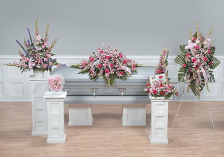 Casket Set/Glad,Snap,Carn,Liatris/CLICK FOR PRICE/ BUY SEPARATE