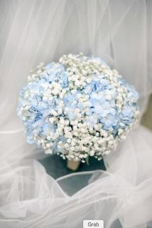 Romantic Bouquet/Hydrangea,Baby Breath