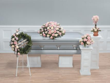 Casket Set All Roses/CLICK FOR PRICE/ BUY SEPARATE