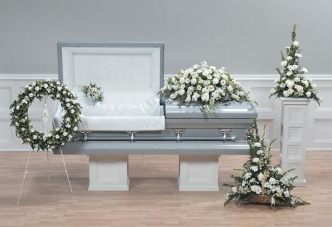 Casket Set/Snap,Gerb,Rose,Carn/CLICK FOR PRICE/ BUY SEPARATE