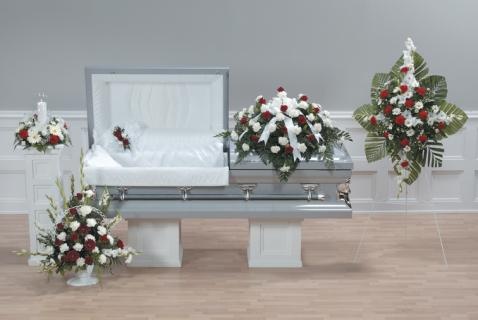 Casket Set/Carnation,Rose/CLICK FOR PRICE/ BUY SEPARATE