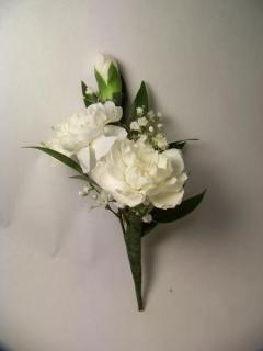 Boutonniere/Carnation,Baby Breath