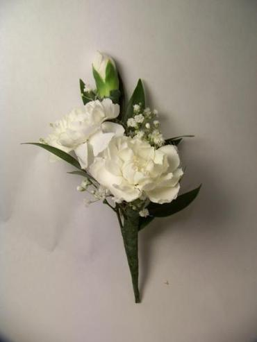Boutonniere/Carnation,Baby Breath/Colors are Optional