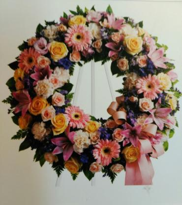 Memory And Honor Wreath/Gerb,Roses,Lilly