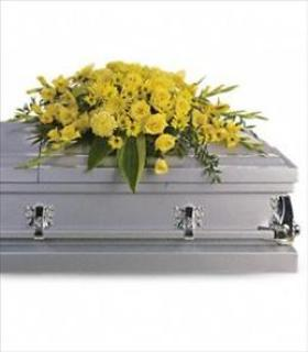 A Casket Spray/Carns,Roses,Glads,Mums