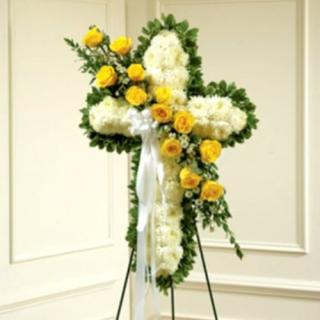 Standing Cross/Roses,Monte Casino,Football Mums