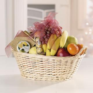Fruit & Gourmet Basket/CLICK FOR INFORMATION