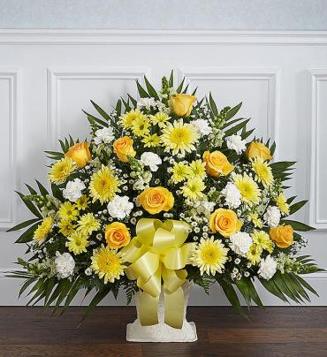 Funeral Basket/Roses,Daisy,Fuji,Carns,Monte Casino