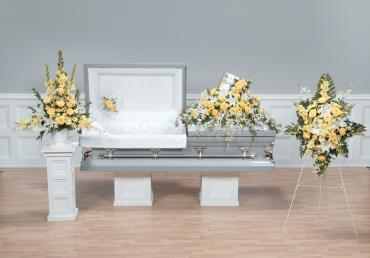 Casket Set/Orchid,Rose,Glad,Lilly/CLICK FOR PRICE/ BUY SEPARATE