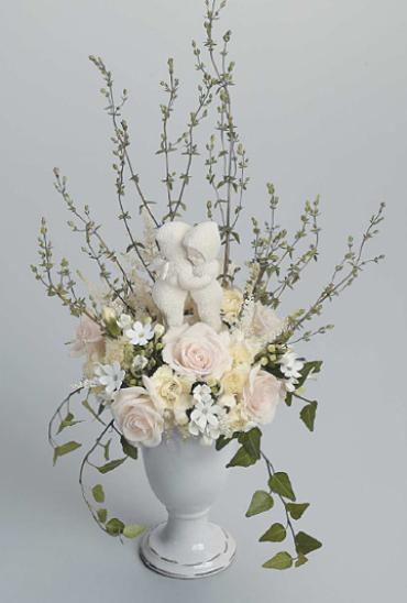 Winter White/Roses,Stock