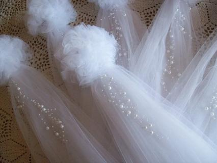 Pew Arrangements/Tulle