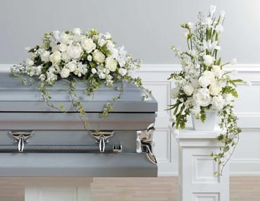 Casket Set/Iris,Roses,StockCarns/CLICK FOR PRICE/ BUY SEPARATE