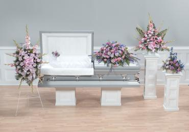 Casket Set/Glad,Delph,Liatris,Carn/CLICK FOR PRICE/ BUY SEPARATE