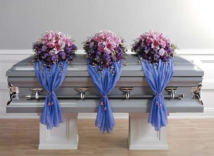 Casket Set/Stock,Lilly,Rose,Delph/ BUY SEPARATE/CLICK FOR PRICE