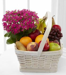 Fruit and Bloom Basket/CLICK FOR INFORMATION