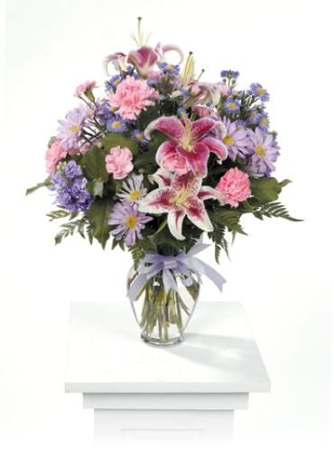 Mixed Flower Bouquet for any Occassion/Stargazer,Carns,Daisies
