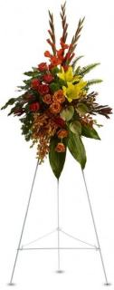 Tropical Tribute/Orchid,Rose,Lilly,Leucadendron,Dianthus,Glad,