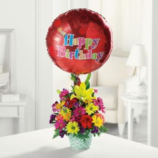 Happy Birthday Basket/CLICK FOR INFORMATION