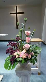 Altar Flower/Roses,Wax,Carnations