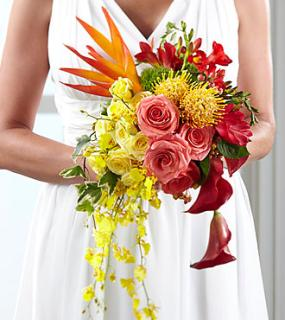 Delight/Freesia,Rose,Dianthus,Heliconia,Protea,Ginger