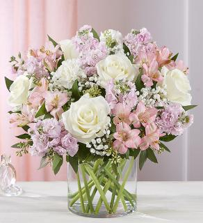 Blush Bouquet/Roses,Stock,Alstro