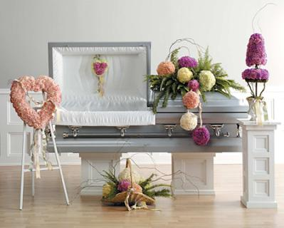 Casket Set Family Work Carnations/ BUY SEPARATE/ CLICK FOR PRICE