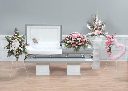 Casket Set/Gerb,Rose,Glad,Carn/BUY SEPARATE/ CLICK FOR PRICE