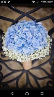 Joy Bouquet/Hydrangea,Baby Breath