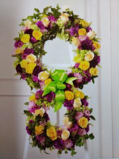 Eternal wreath/Roses,Carns,Dianthus,Poms