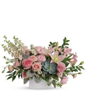 Beauty/Lily,Rose,Carns,Lisianthus,Larkspur,Succulent