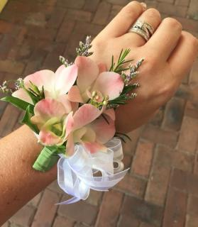 Corsage/Orchids,Limonium/Color Optional