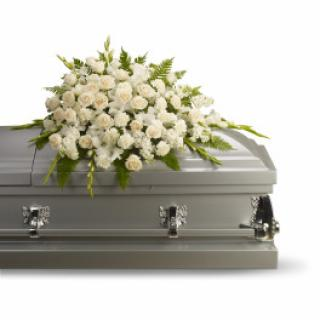 A Casket Spray/Carns,Glads,Stock