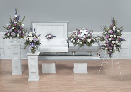 Casket Set/Delph,Fuji,Carns,Roses/CLICK FOR PRICE/ BUY SEPARATE