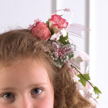 Flower Girl Hair Accent
