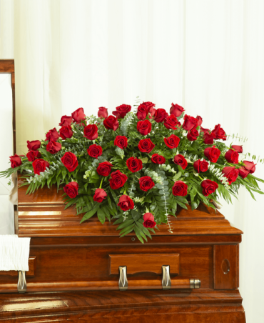A Casket Spray/Roses