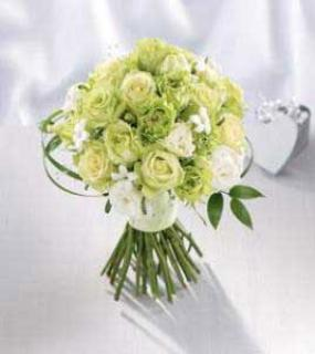Enlightened/Roses,Stephanotis,Double Lisianthus