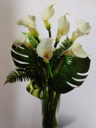 Adornment/Calla Lillies