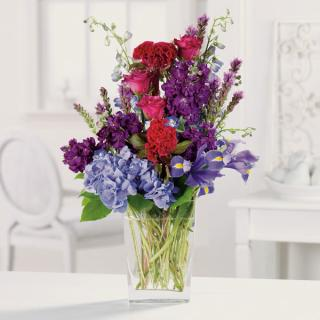 Wishing You Well/Hydrenga,Roses,Stock,Carn,Delph,Iris,Liatris