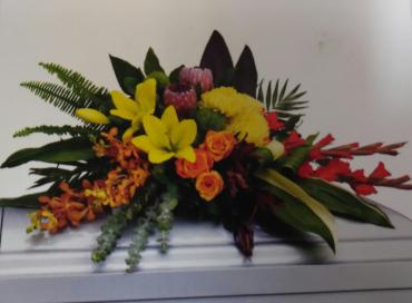 A Elegance/Orchid,Lilly,Gladioli,Protea,Leucadendron,