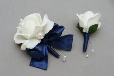 Corsage and Boutonniere/Rose/CLICK FOR PRICE