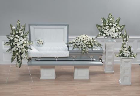 Casket Set/Carn,Orchid,Lilly/CLICK FOR PRICE/ BUY SEPARATE