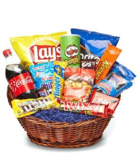 One Junk Food Basket/CLICK FOR INFORMATION