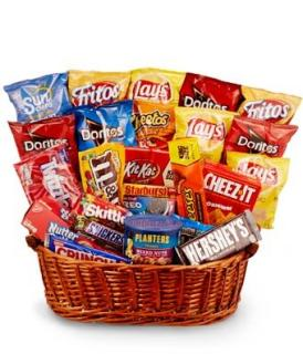 Junk Food Basket/CLICK FOR INFORMATION