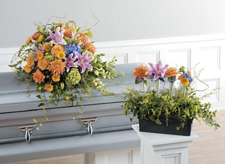 Casket Set/Hydrangea,Snap,Rose,Lill/CLICK FOR PRICE/BUY SEPARATE