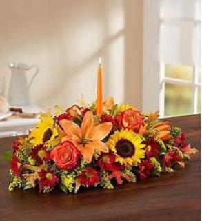 Center Piece/Roses,Lilies,Sunflowers,Solidego