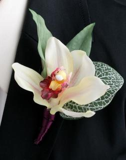 Boutonniere/Orchid/Colors are Optional